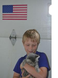 Adopted Fuzz Ball - 1st PAC adoption!