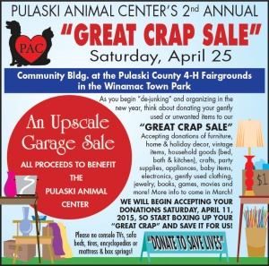 Pulaski Animal Center Crap Sale 3x5 #01 15